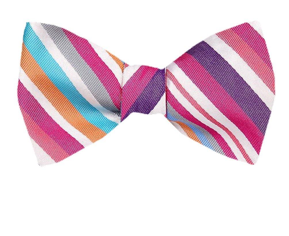 Tie yourself Bow Ties Silk Mens Purple Plum Lavender Self tie Bowtie Many Designs Available
