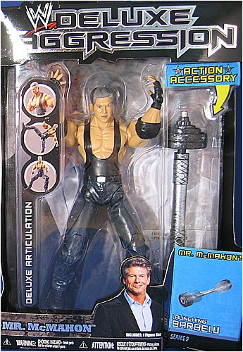 WWE Wrestling DELUXE Aggression Series 9 Action Figure Mr. Vince McMahon by WWE