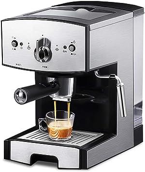 Wlylyhjy Portátil del Café Express De La Máquina, Todo-en-uno para El Café En Polvo, Cápsulas De Nespresso Y Espresso Espuma De Leche Espuma, Boquilla De Vapor 1,5 L De Capacidad: Amazon.es: Deportes