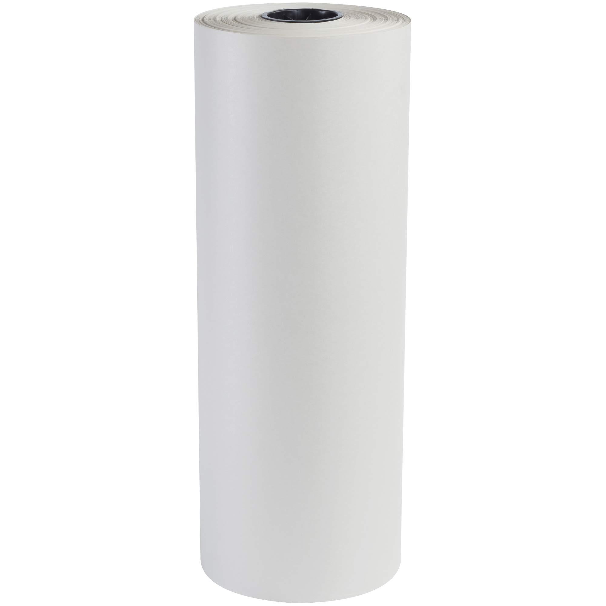 Newsprint Roll, 30#, 24'' x 1,440', White, 1 Roll