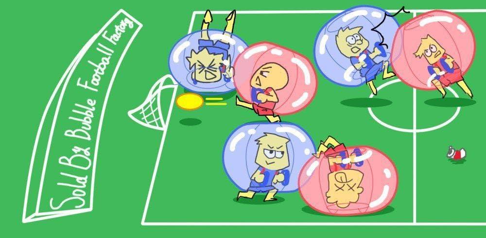 Pelotas hinchables para el cuerpo con burbujas de PVC, bolas de fútbol con burbujas, bola de hámster humano, bola para el parachoques, bola de cintura, bola de buceo, azul, 1,2 m: Amazon.es: