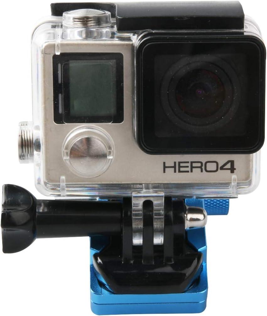 Motocicleta Espejo retrovisor CNC de aleación de aluminio Stent Holder soporte fijo for GoPro nuevo héroe / HERO6 / 5/5 Sesión / 4/3 + / 3/2/1, Xiaomi Xiaoyi, Cámara SJCAM, Accesorios de Cámara de Acc