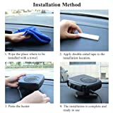 12V Car Auto Heating Cooling Fan, Car Vehicle