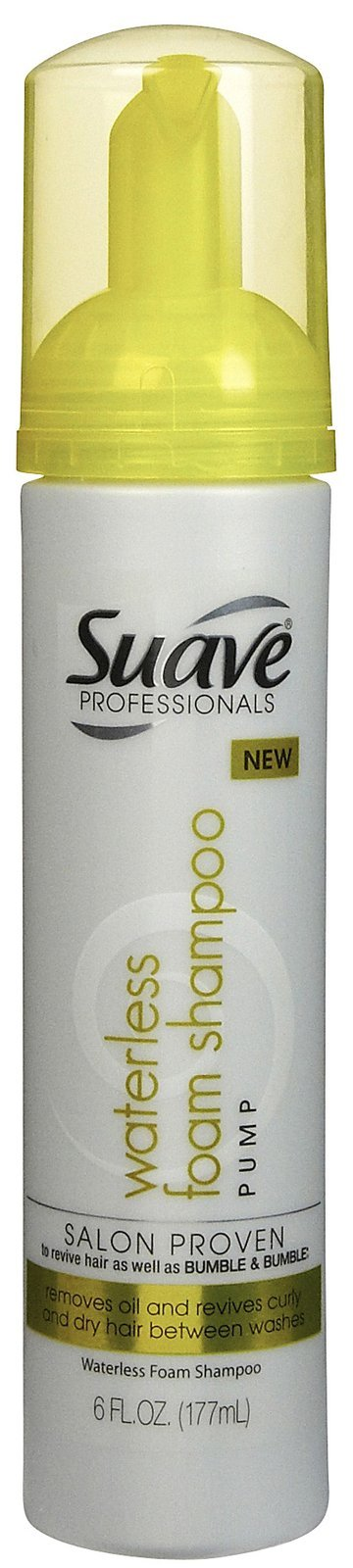 Suave Professionals Waterless Foam Shampoo Pump