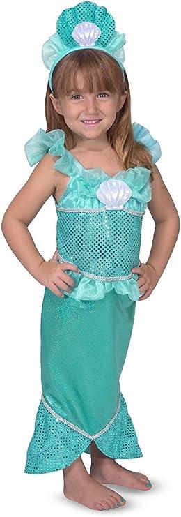 Melissa & Doug 18501 - Disfraz de sirena: Amazon.es: Juguetes y juegos