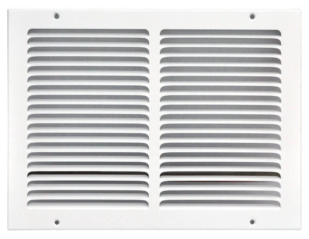 Speedi-Grille SG-1210 RAG White Return Air Grille 12-Inch by 10-Inch (Actual: 13.5-Inch by 11.5-Inch) by Speedi-Grille