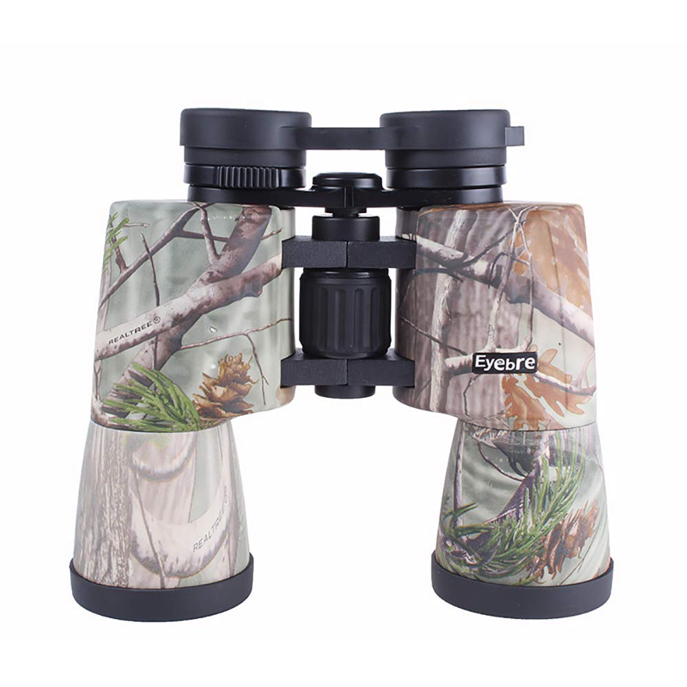 DOT Camouflage 10X50 Compact and Waterproof Binoculars HD for Adults to Birdwatching Theaters Concert Hiking Camping Best Gifts by DOT