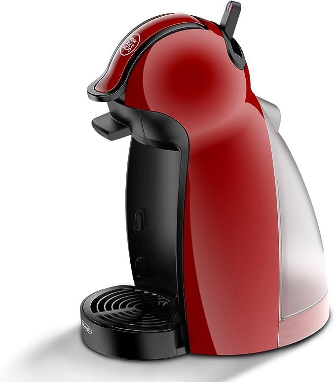 Dolce Gusto Piccolo EDG200.R - Cafetera de cápsulas, 15 bares de presión, color rojo: Amazon.es: Hogar