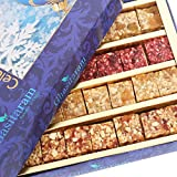 Ghasitaram Gifts Diwali Gifts Natural Fruit Assorted Sugarfree Sweets 200 gms