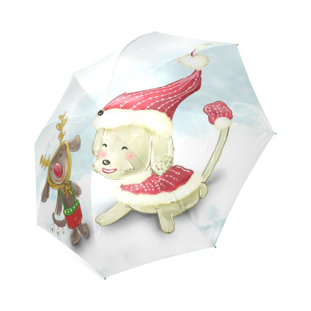 30%OFF Christmas Classic Umbrella Windproof foldable Compact Rain Travel Umbrella
