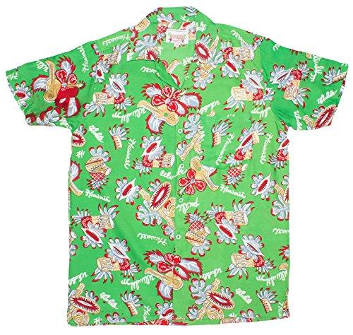 ragstock-mens-island-music-print-hawaiian-shirt-green-xx-large
