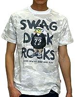 (ビーワンソウル) B ONE SOUL Tシャツ メンズ ブランド 半袖 ロゴ ダックデュード 迷彩 2color