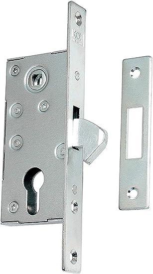 Gancho Candado Cerradura Puerta corrediza H 60 puertas correderas (con contraplaca: Amazon.es: Bricolaje y herramientas