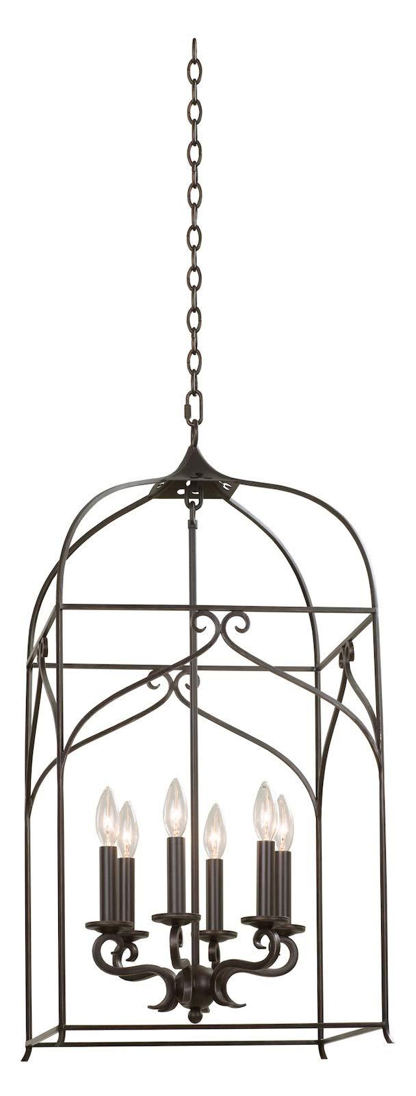 Somers Medium Hanging Lantern Heirloom Bronze