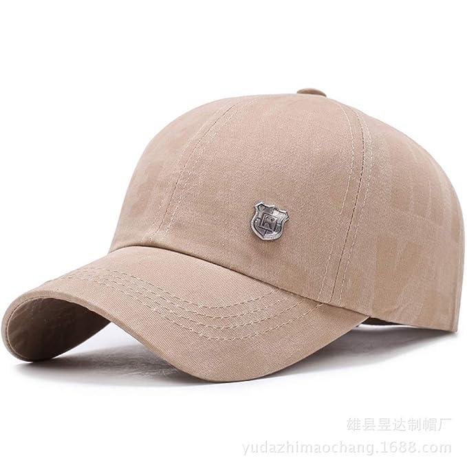 sdssup Gorra de béisbol estándar de Hierro de Moda Personalidad ...