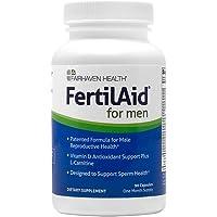 FertilAid for Men: Male Fertility Supplement for Sperm Count, Motility, and Morphology