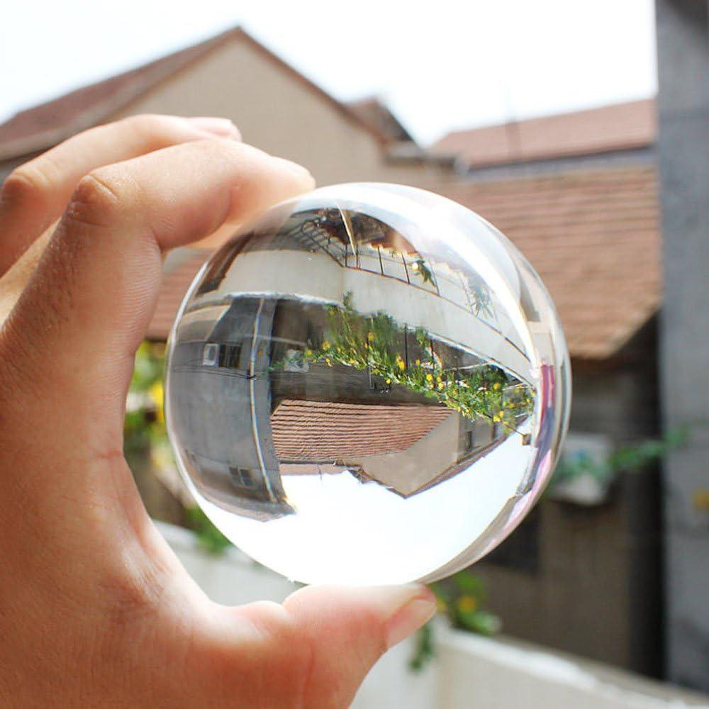 60mm Crystal Ball Sphere For Decor, Photography, Contact Juggling, Magic, Meditation, Divination, & Interpretation
