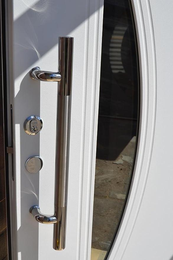 Top Nr.2, Wohnungstür Haustüren mit Glaseinsatz Moderne Türen Tür TS64