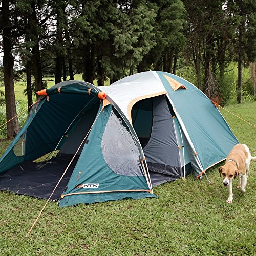 Amazon.com  NTK INDY GT 4 to 5 Person 12.2 by 8 Foot Outdoor Dome Family C&ing Tent 100% Waterproof 2500mm European Design Easy Assembly ... & Amazon.com : NTK INDY GT 4 to 5 Person 12.2 by 8 Foot Outdoor Dome ...