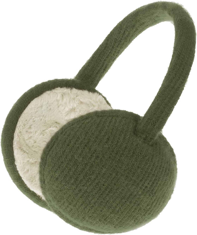 Knolee Unisex Ear Warmers Classic Knit Earmuffs Foldable Ear Muffs Winter Accessory Outdoor EarMuffs