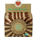 YES Bar - Gourmet Whole Food Paleo Snack Bar - Macadamia Chocolate (Pack of 6, 1.4 oz.)