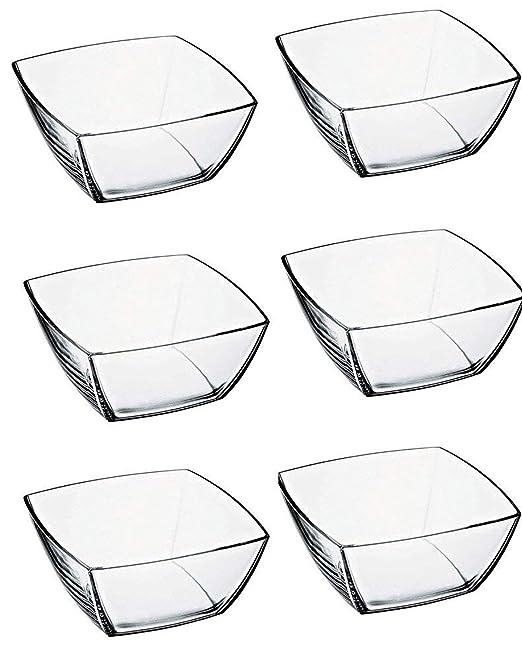 Pasabahce 53066 Tokio fuente de cristal, 6 pcs: Amazon.es: Hogar