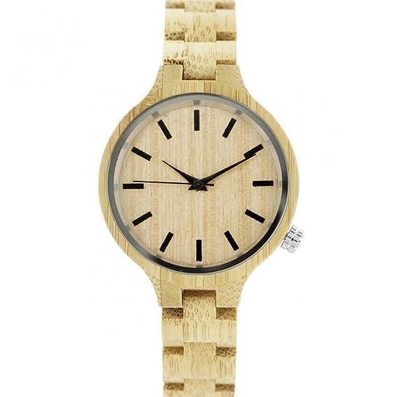 Reloj mujer madera M. John