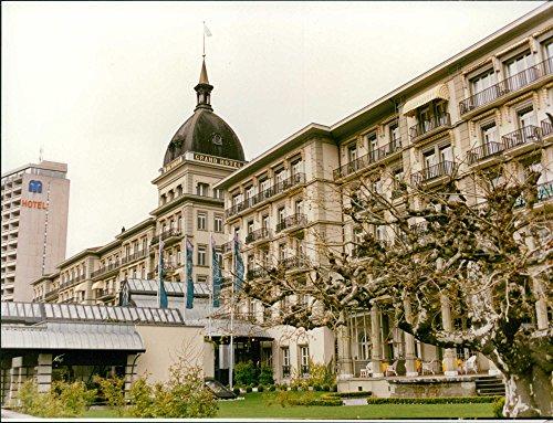 Vintage photo of Switzerland: Interlaken: Grand Hotel -