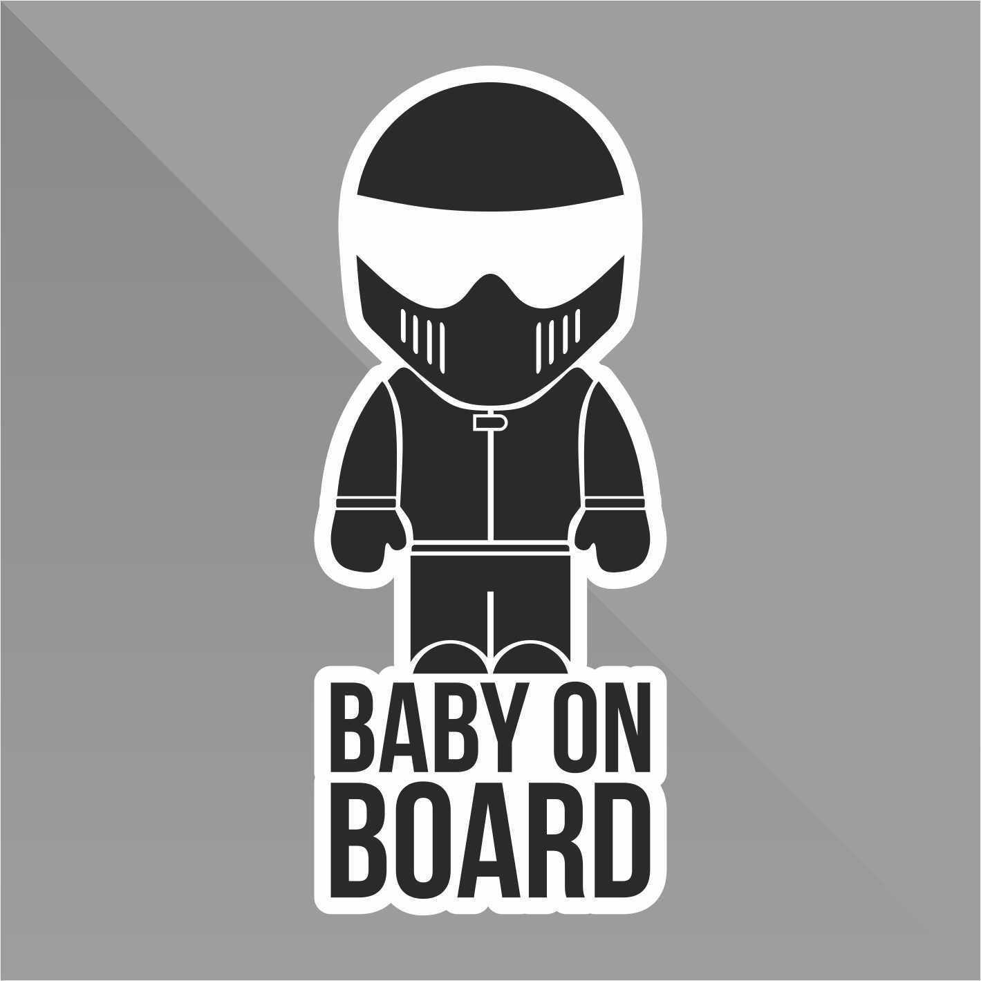 Sticker Bambini a bordo Baby on board b/éb/é /à bord beb/é a bordo Baby an Bord Decal Auto Moto Casco Wall Camper Bike Adesivo Adhesive Autocollant Pegatina Aufkleber cm 10