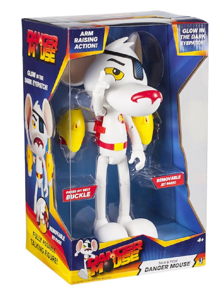 talk and pose feature figure 25cm Danger Mouse 10inch