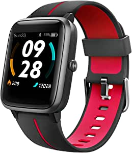 "UMIDIGI Uwatch3 GPS Smart Watch, Built-in GPS, Customized Dial, 1.3"" Waterproof Touch Screen Smartwatch, Fitness Tracker with Sleep and Heart Rate Monitor for Android iOS"