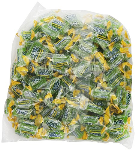 JOLLY RANCHER Hard Candy, Green Apple, 160 Count (Pack of 2) ()