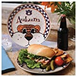 Auburn Gameday Ceramic Plate