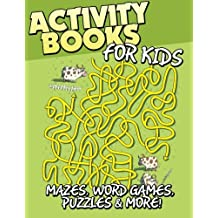 Activity Books for Kids: Mazes, Word Games, Puzzles & More!