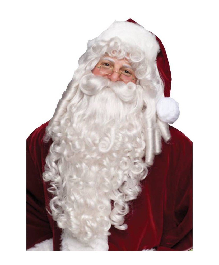 Santa Adult Wig and Beard deluxe 7528