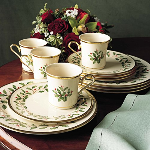 Lenox Holiday 12-Piece Dinnerware Set by Lenox (Image #2)