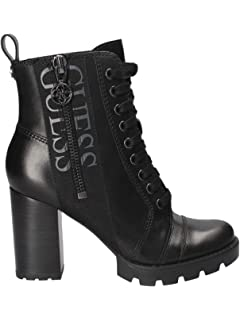 NoirChaussures Remedy Guess Bottines en Cuir Sacs et xQdshotCBr