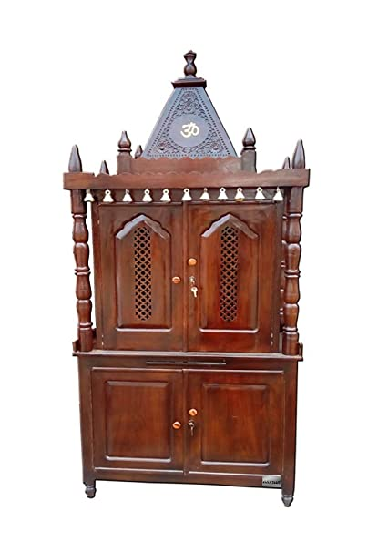 Merveilleux Aarsun Woods Rosewood Wood Temple/ Mandir/ Cabinet/Prayer Unit/ Pooja  Article For