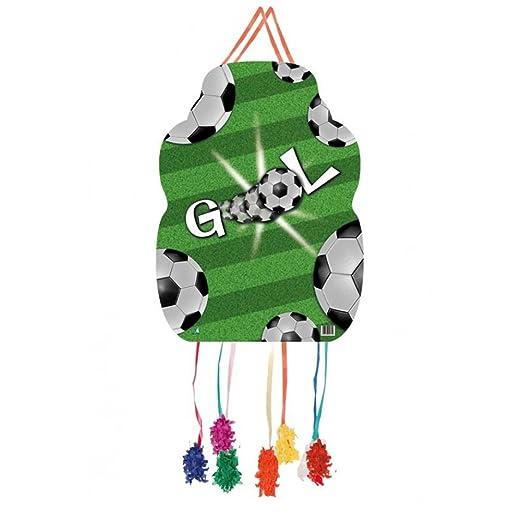 Kidunivers Piñata Cumpleaños 46 cm fútbol Goal: Amazon.es: Hogar