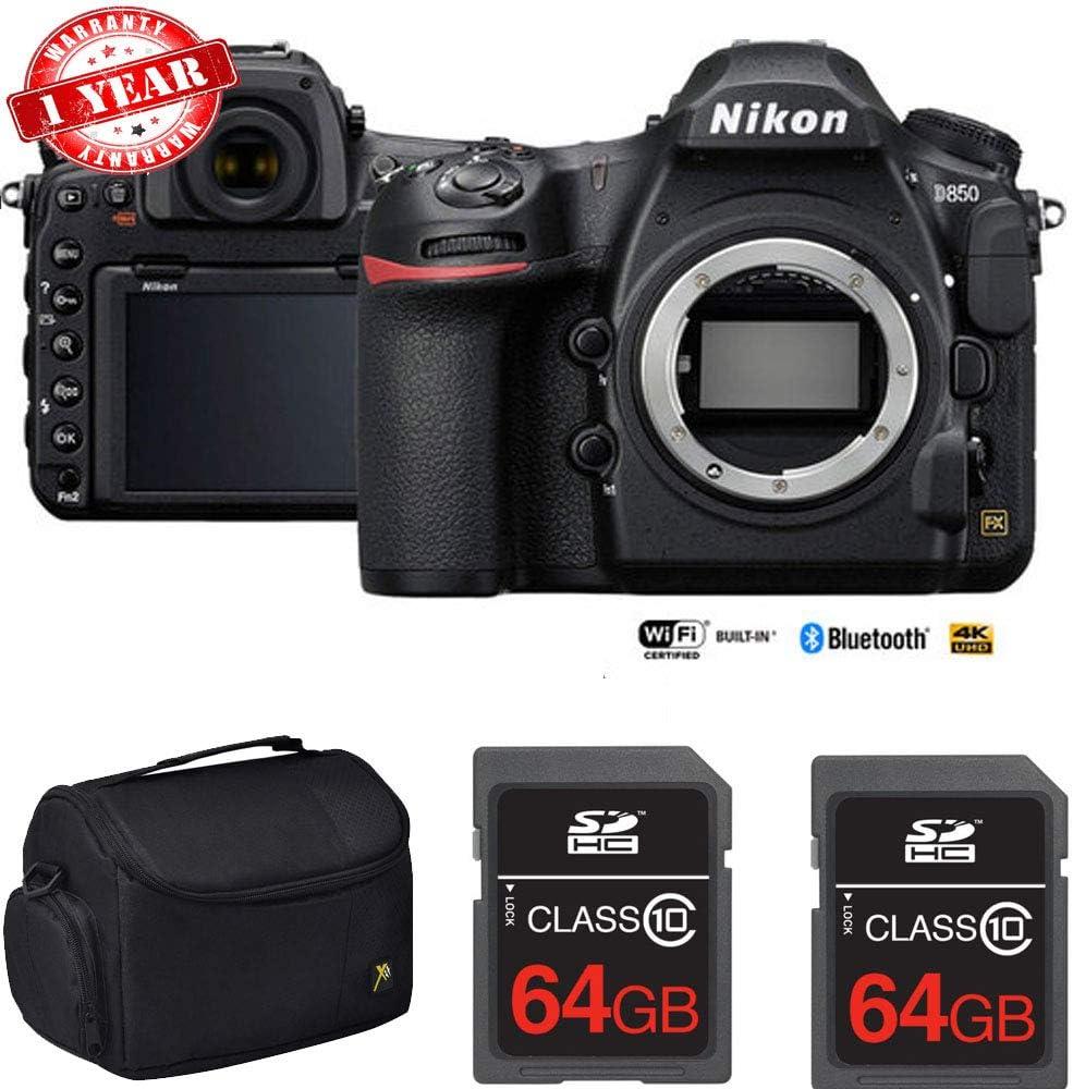 Nikon D850 - Cámara réflex Digital (45,7 Mpx, Full Frame FX, Dual ...