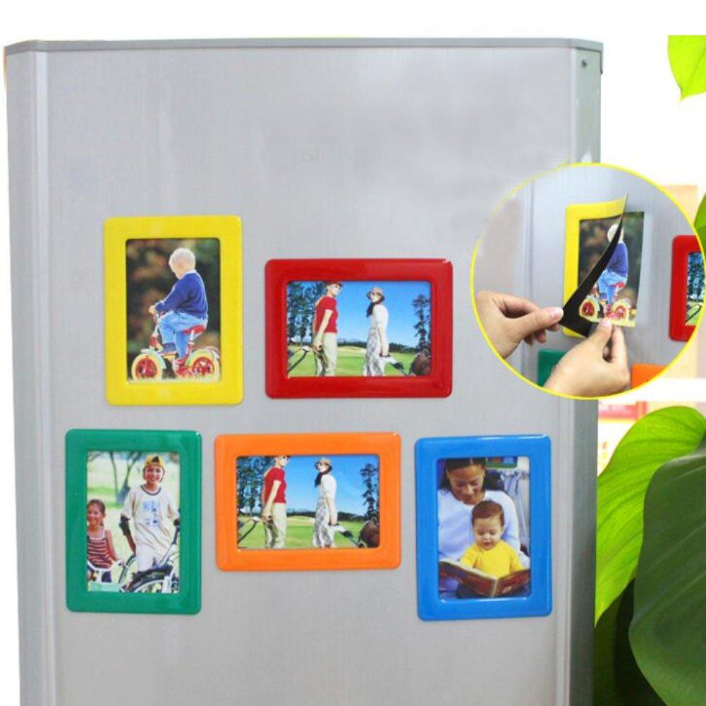 Magnetischer Bilderrahmen für Kühlschrank 12,7 cm 15,2 cm 17,8 cm 20 ...