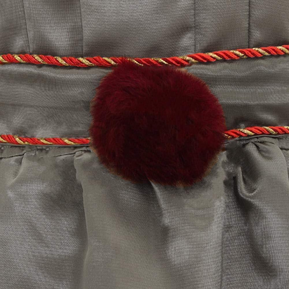 geh/ören Top G/ürtel KEIBODETRD 1 Anzug Halloween Horror Clown Cosplay Kost/üm f/ür M/änner und Frauen Hosen Kragen Armband und Beinkette