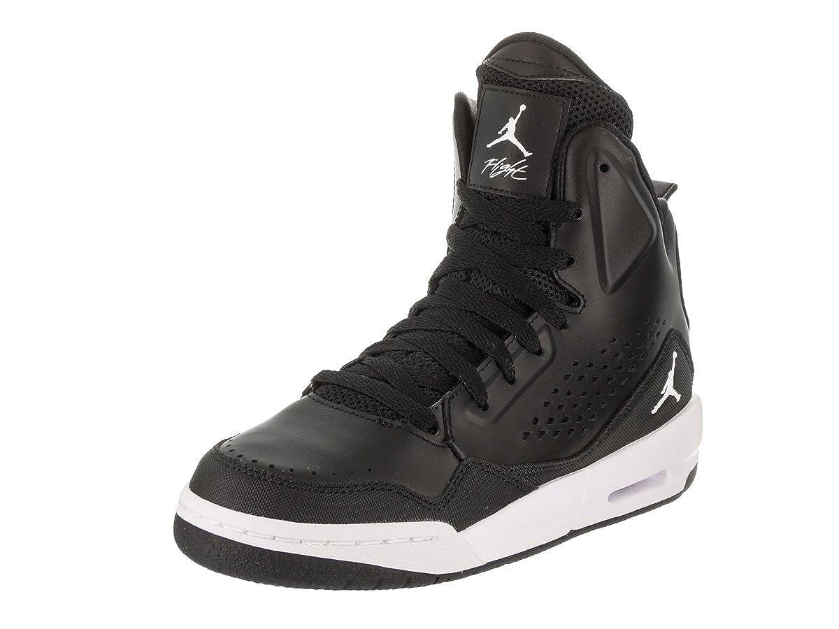 Nike Jordan Kids Jordan SC-3 BG Black/White/Black/White Basketball Shoe 7 Kids US