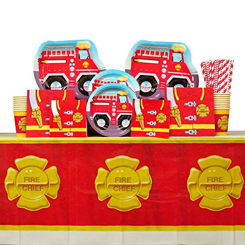 Firefighter Fire Truck Party Guests product image