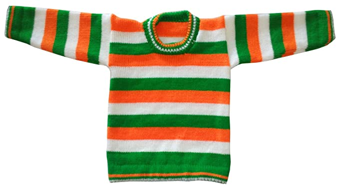 6d7a19d42 Apna Showroom Baby Boy s and Girl s Woolen Sweater (Tri Color