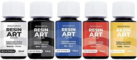 Colorante de resina epoxi RESIN ART COLOR 5 colores 50ml, no ...