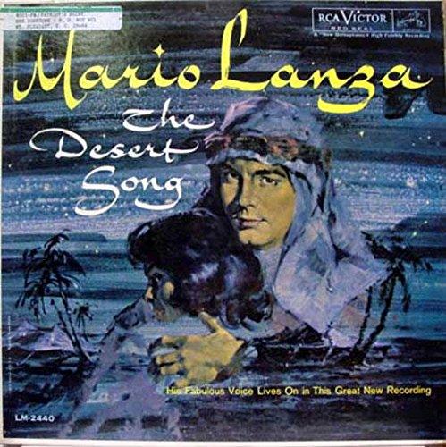 Price comparison product image MARIO LANZA THE DESERT SONG vinyl record