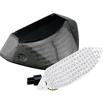 gzyf integrado LED Taillight se/ñales de giro para Yamaha YZF R1/2009/2010/2011/2012/2013