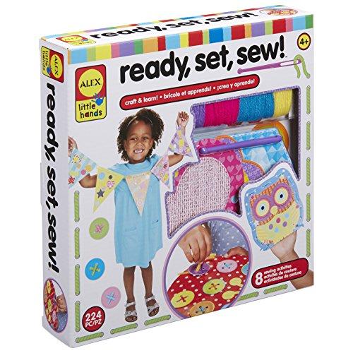 ALEX Toys Little Hands Ready Sew Set