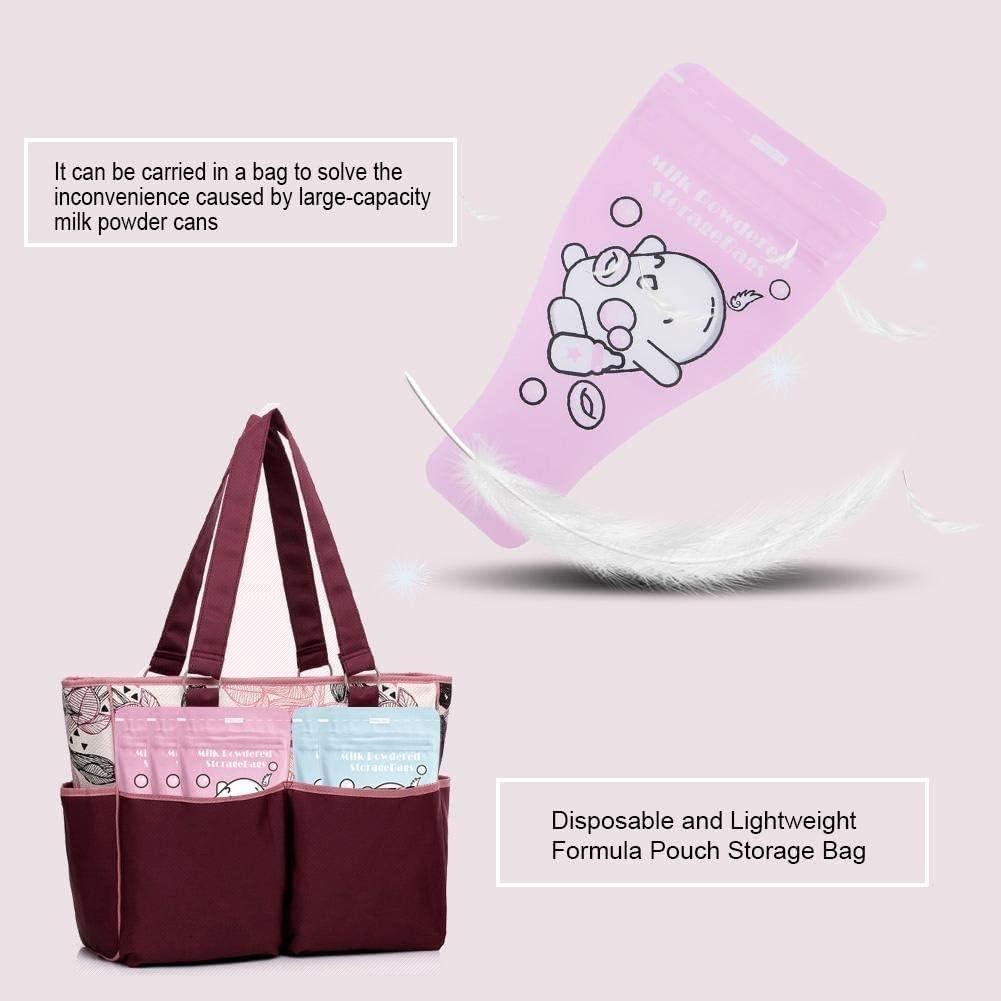 Safe and Non-Toxic Flyinghedwig 36Pcs//Pack Portable Disposable Formula Pouch Dispenser Baby Milk Powder Storage Bags Milk Powder Box Storage BPA Free
